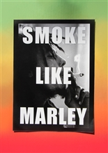 Smoke Like A Marley Sticker