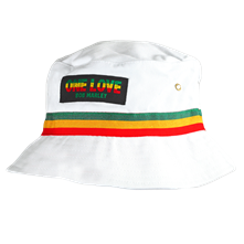 Bob Marley White Bucket Hat