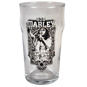 Marley Frame Pint Glass