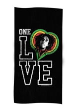 One Love Smile Towel