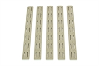 BCM-KMR-RP-FDE<br>BCM KeyMod 5.5-inch Rail Panel Kit, 5 pack, Flat Dark Earth
