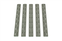BCM-KMR-RP-FG<br>BCM KeyMod 5.5-inch Rail Panel Kit, 5 pack, Foliage Green