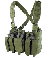 CON-MCR5-OG<br>Condor Recon Chest Rig, Olive Green