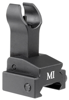 MCTAR-FFG-BLK<br>Flip Up Front Sight, Gas Block Mount Model - Black