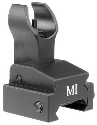MCTAR-FFR-BLK<br>Flip Up Front Sight, Handguard Rail Model - Black