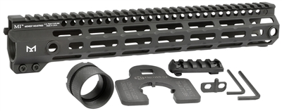 "MI-G4M12.625<br> MI G4 12.625"" One Piece Free Float Handguard, M-LOKâ""¢ compatible"
