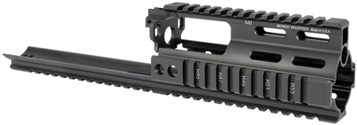 MI-S1617-SSR-BLK <br> MI SSR SCAR Rail Extension - Black