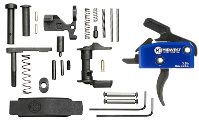 MI-TRIGGER-KIT-C<br>MI Enhanced Drop in Trigger with Lower Parts Kit Black Magpul Trigger Guard Ambi Safety