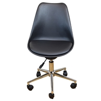 Uncaged Ergonomics Active Task Chair - BLACK