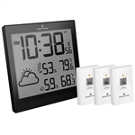 Marathon WEATHER STATION WITH 3 REMOTE SENSORS & ATOMIC TIMING