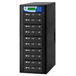 Blu-ray 10 Copy BD DVD CD Duplicator - Features 12x Drives-Includes 500GB HDD