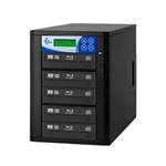 Blu-ray 5 Copy BD DVD CD Duplicator - Features 12x Drives-Includes 500GB HDD