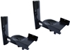B-tech Ultragrip Speaker Wall Mounts (Pair, Black)