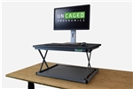 Uncaged Ergonomics CHANGEdesk MINI - Sit to Stand Desk Riser for Laptops - BLACK