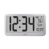 Jumbo Panoramic 8 Time Zone Atomic Clock (GRAPHITE GREY)