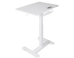 FitDesk Sit to Stand Desk (White)