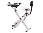 FitDesk Bike Desk 3.0 (w/Massage Roller, Integrated Tablet Holder)