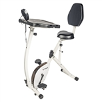 FitDesk FD4010 Recumbent Exercise Bike with Adjustable Sliding Desk