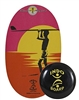 Indo Board Original FLO GF (Robert August - Endless Summer) - Standing Desk Balance Accessory