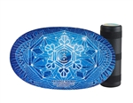 Indo Board Balance Board Original with Roller (Snowflake)
