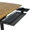 KT1 Under Desk Stand-Up Keyboard Tray with Negative Tilt (Black)