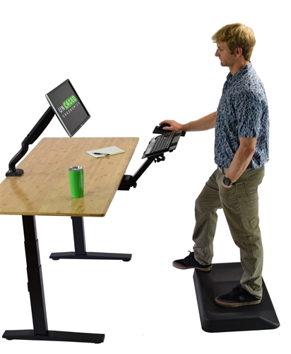 Kt2 Ergonomic Sit To Stand Under Desk Keyboard Tray Fully
