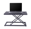 Rocelco PDR Portable Desk Riser for Laptops, Mobile Office Workspace (BLACK)