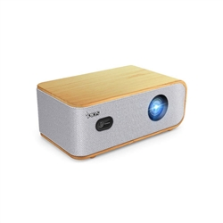 PIQS Q1 Home Theater HD LED Projector w/ Android OS, 4D Auto Keystone, Side Projection, 4K Support, WiFi, Bluetooth, Stereo Speakers