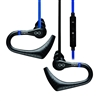 Veho ZS-3 Water Resistant Sports Earphones, Black/Blue(VEP-006-ZS3)