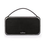 Veho M7 Mode Retro Bluetooth Speaker | Wireless | Water Resistant IPX4 | 1300mAh Power Bank | Rechargeable | Compatible with Smartphones/Tablets/MP3 Players (VSS-014-M7)