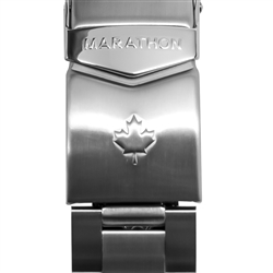 Marathon Stainless Steel Bracelet - Maple Leaf, 20mm