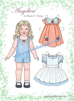 """Angelica"" Paper Doll"