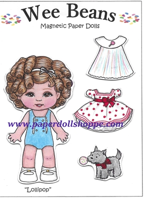"""Lollipop"" Wee Bean Magnetic Doll Set"
