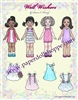 """Well Wishers"" Paper Doll"