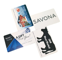 Lavu Custom Gift Cards