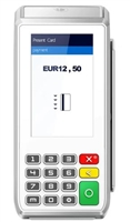 White Pax A80 credit card terminal