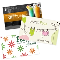 Vend Preprinted Gift Card
