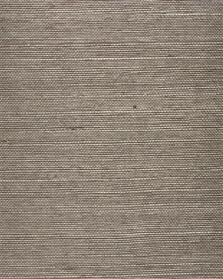 Sepia Brown Sisal Grasscloth