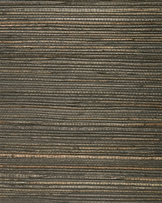 Espresso Brown Jute Grasscloth