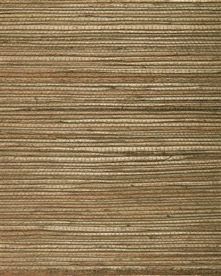 Tobacco Brown Jute Grasscloth