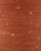 China Red Jute Grasscloth