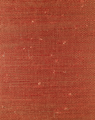 Brick Red Jute Grasscloth