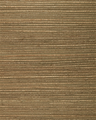 Copper Brown Jute Grasscloth