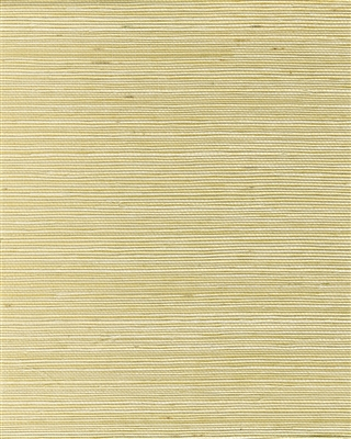 Pale Straw tight sisal weave grasscloth