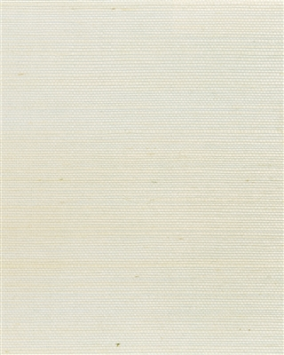 Soft Ivory tight sisal weave grasscloth