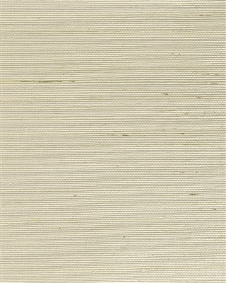 Soft Natural ivory metallic back sisal weave grasscloth