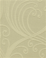 linen white large scroll jacquard textile