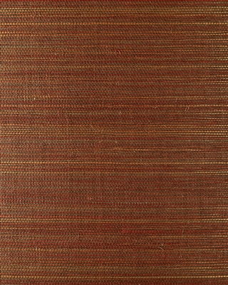 Autumn Red Sisal Grasscloth