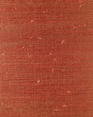 Ming Red Sisal Grasscloth