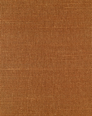 Autumn Orange Sisal Grasscloth